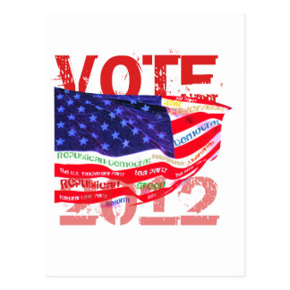 Vote 2012 T-shirts & gifts Postcard