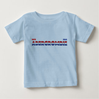 Vote Abercrombie 2010 Elections Red White and Blue T-shirts