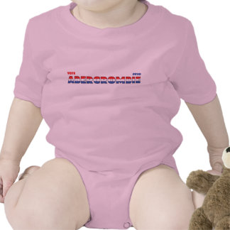 Vote Abercrombie 2010 Elections Red White and Blue Baby Bodysuits