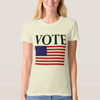 Vote American Flag T-Shirt