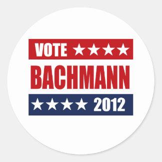 VOTE BACHMANN 2012 - STICKER