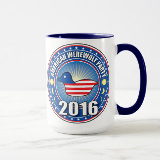 VOTE BACON the Werewolf Party Mug