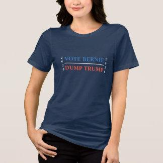Vote Bernie Dump Trump T-Shirt
