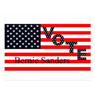 Vote Bernie Sanders for President 2016 Postcard