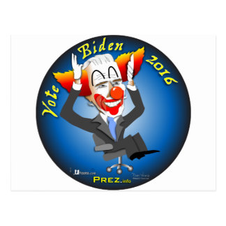 Vote Biden 2016 Postcard