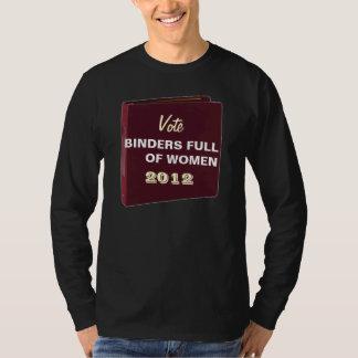 Vote Binders Full Of Women 2012 Funny T (Dark) Tees