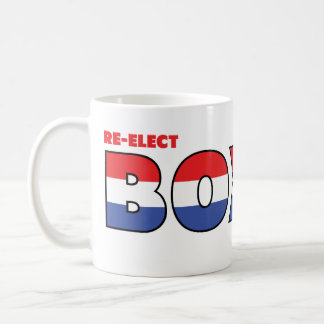 Vote Boxer 2010 Elections Red White and Blue Coffee Mug