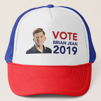 Vote Brian Jean Trucker Hat