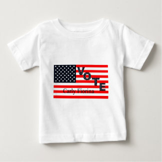 Vote Carly Fiorina for President 2016 Baby T-Shirt