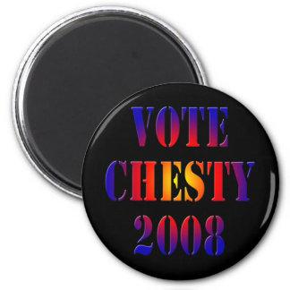 Vote Chesty 2008 6 Cm Round Magnet