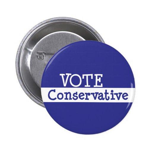 VOTE Conservative Button