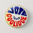 Vote Coolidge - Button