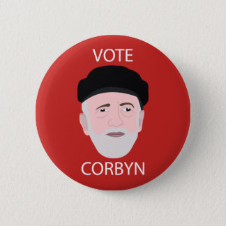 Vote Corbyn Badge Pin Button
