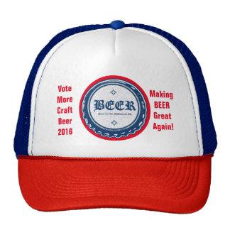 Vote Craft Beer Cap