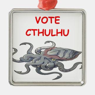 vote cthulhu christmas ornament