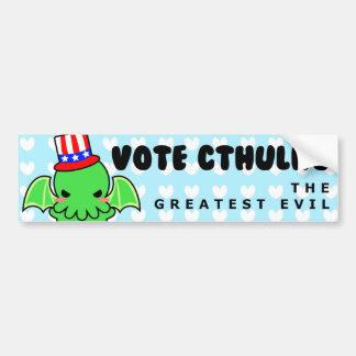 Vote Cthulhu for President Bumper Sticker