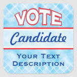 VOTE Customise Text Stickers