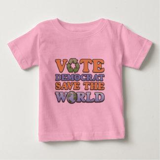 Vote Dem Save the World Baby T-Shirt