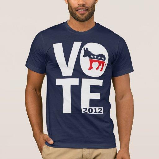 Vote Democrat 2012 T-Shirt