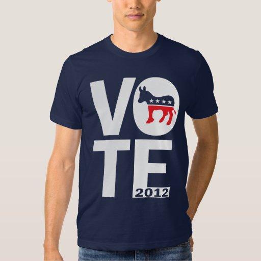 Vote Democrat 2012 Tshirts