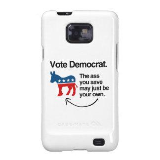 VOTE DEMOCRAT.png Galaxy S2 Cover