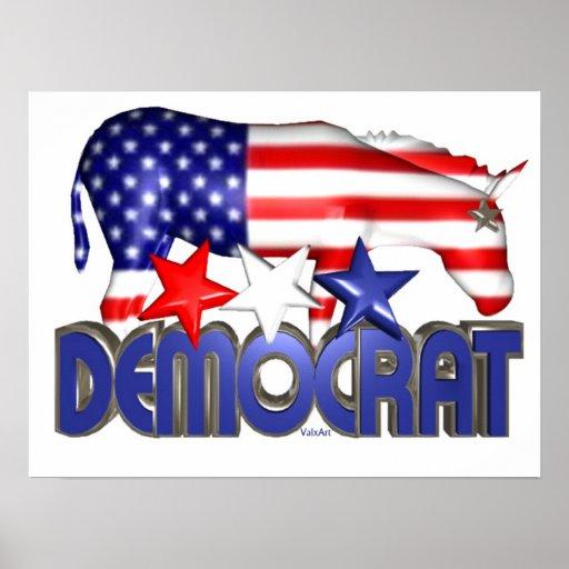 Vote Democrat Posters
