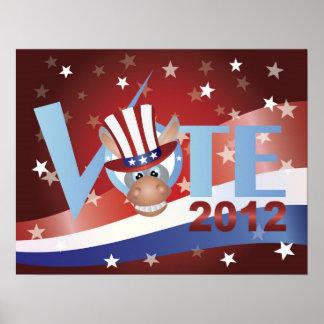 Vote Democrat Poster