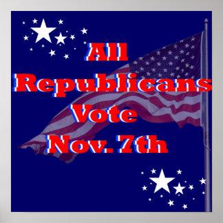 Vote Democrat Print