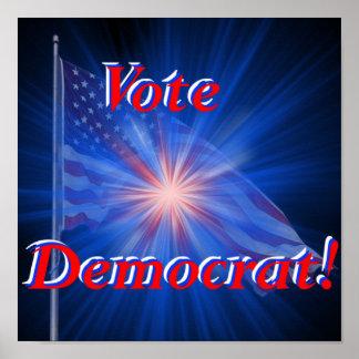 Vote Democrat! Print