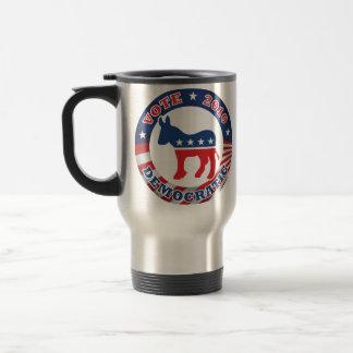 Vote Democratic 2010 Travel Mug