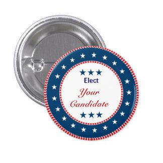 Vote  Election 3 Cm Round Badge