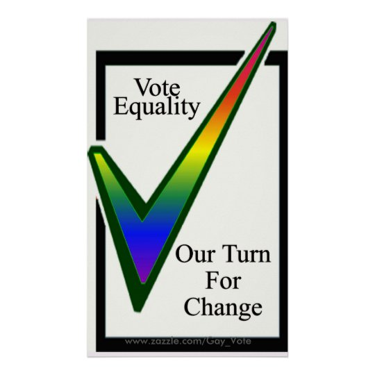 Vote Equality Poster