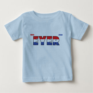 Vote Eyer 2010 Elections Red White and Blue Tshirts