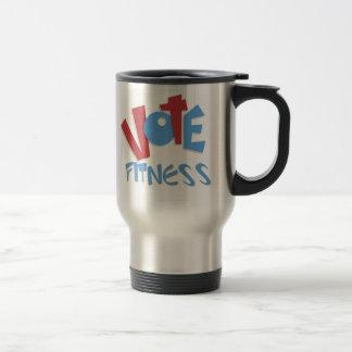Vote Fitness Mugs