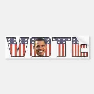 Vote for Barak Obama Bumper Sticker Car Bumper Sticker