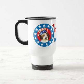 Vote for Beagle Travel Mug