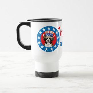 Vote for Boxer Stainless Steel Travel Mug