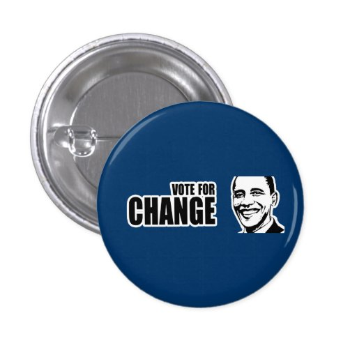 Vote for change Obama Bumper 5 copy.png Pin