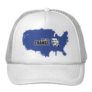 Vote for change Obama Bumper 5 copy.png Hats