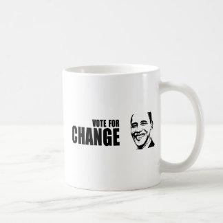Vote for change Obama Bumper 5 copy png Coffee Mug