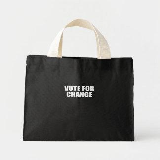 VOTE FOR CHANGE MINI TOTE BAG