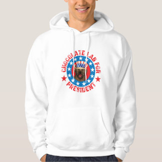 Vote for Chocolate Lab Hoodie