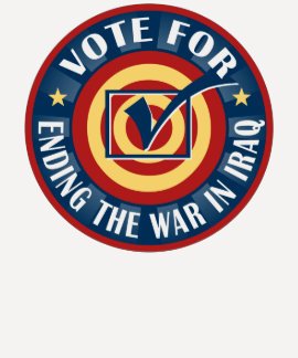 Vote for Ending the War in Iraq Tshirt