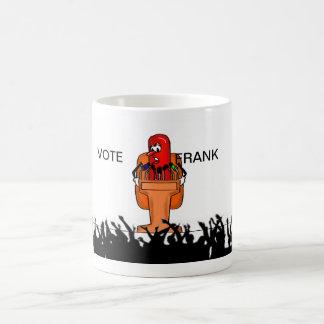 Vote for Frank Basic White Mug