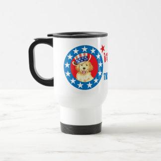 Vote for Golden Travel Mug