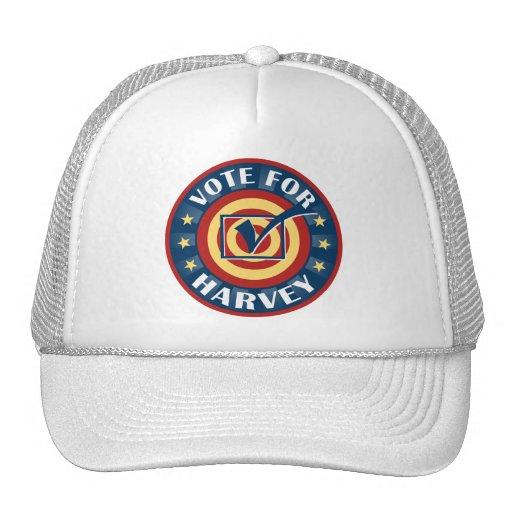 Vote for Harvey First Name Baseball Cap Trucker Hat