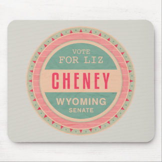 Vote For Liz Cheney Mousepad