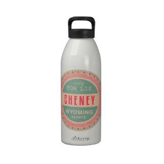 Vote For Liz Cheney Water Bottle