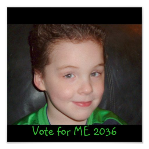Vote for ME 2036 Posters