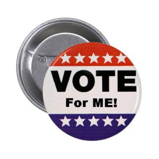 Vote For Me 6 Cm Round Badge